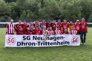 Die 1. Mannschaft der SG Neumagen-Dhron-Trittenheim